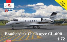 AMODEL 1/72 Bombardier Challenger CL-600