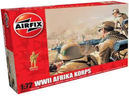 AIRFIX 1/72 WWII Africa Corps