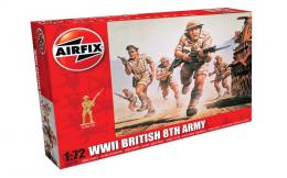 AIRFIX 1/72 WWII British 8th Army