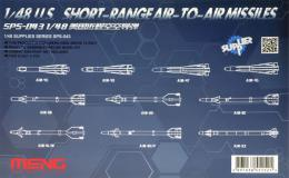 MENG 1/35 U.S. Short-range Air-to-air Missiles
