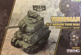 Meng WWT-002 U.S. Medium Tank M4A1 Sherman