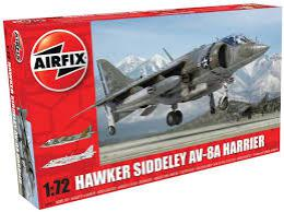 AIRFIX 1/72 Bae Hawker Siddeley Harrier Av-8A