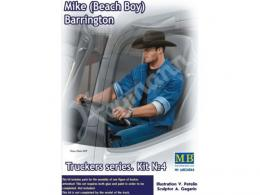 MASTERBOX 1/24 Mike (Beach Boy) Barrington Truckers series