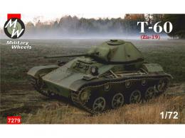 MILITARY WHEELS 1/72  Tank T-60 ZIS-19