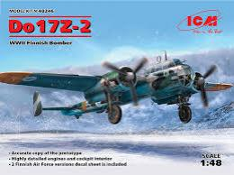 ICM 1/48  Do 17Z-2 Finnish Bomber