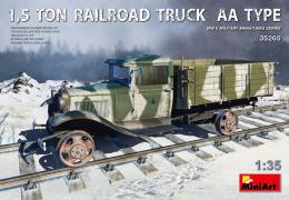 MINIART 1/35 1,5 Ton Railroad Truck AA Type