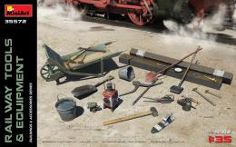 MINIART 1/35 Railway Tools & Equipment