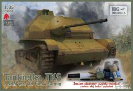 IBG 1/35 TKS Tankette w/ 20mm Gun w Colors