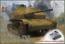 IBG 1/35 TKS Tankette w/ 20mm Gun w Easy tracks