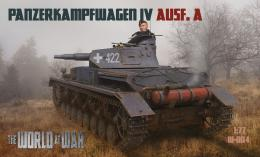 IBG WORLD AT WAR 1/72 No.004 Pz.Kpfw IV Ausf.A