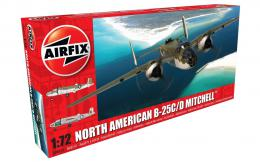 AIRFIX 1/72 North American B-25C/D Mitchell