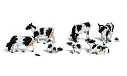 Woodland WA1863 H0 Holstein Cows
