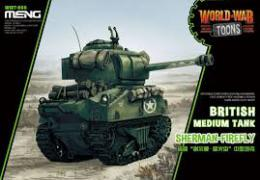 MENG WWT-008 Sherman Firefly - cartoon model