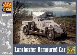 COPPER STATE MODEL 1/35 Lanchester Armored Car