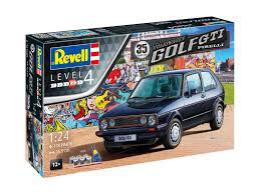 REVELL 1/24 35 Years of the VW Golf GTi Pirelli