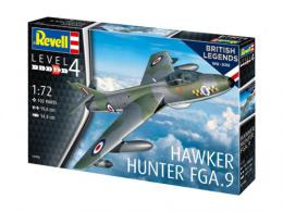 REVELL 1/72 Hawker Hunter FGA.9 Model Set