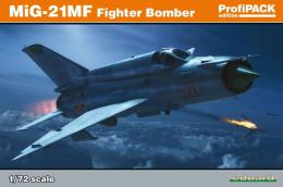 EDUARD PROFIPACK 1/48 MiG-21MF Fishbed Fighter-Bomber
