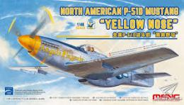 MENG 1/48 P-51D Mustang Yellow Nose