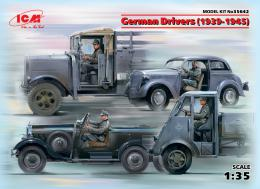 ICM 1/35 German Drivers (1939-1945 WWII) (4 figures)