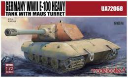 MODELCOLLECT 1/72 Germany WWII E-100 Heavy Tank