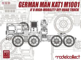 MODELCOLLECT 1/72 German MAN KAT1 M1001