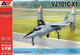 A & A Models 1/72 VJ 101C-X1 Supersonic VTOL Fighter (2x camo)