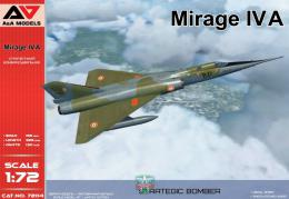 A & A Models 1/72 Mirage IVA Strategic Bomber (3x camo)