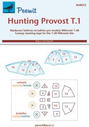 PEEWIT 1/48 Canopy mask Hunting Provost T.1 For MIKROMIR