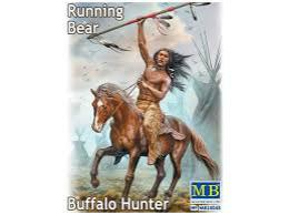 MASTERBOX 1/24 Buffalo Hunter.Running Bear