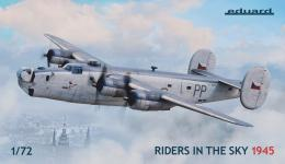 EDUARD LIMITED 1/72 Liberator GR.Mk.V/VIII Riders in the Sky 1945, Coastal Command Special