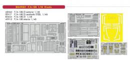 EDUARD BIG ED 1/48 F/A-18B Hornet  for KIN