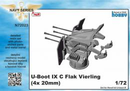 CMK 1/72 U-Boot IXC Flak Vierling, 4x 20mm for REV