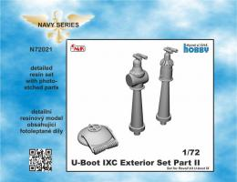 CMK 1/72 U-Boot IXC Exterior Set - part 2 for REV