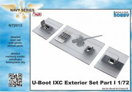CMK 1/72 U-Boot IXC Exterior Set - part 1 for REV