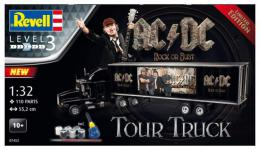 REVELL 1/32 Truck +Trailer AC/DC Limited Edition