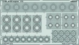 EDUARD Lepty 1/72 B-52G Stratofortress Engines for MDC