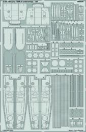 EDUARD Lepty 1/24 Mosquito FB.Mk.VI Undercarriage set for AIR