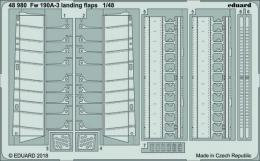 EDUARD Lepty 1/48 Fw-190A-3 Landing flaps for EDU