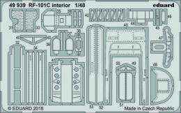 EDUARD Lepty 1/48 RF-101C Voodoo Interior for KH