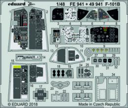 EDUARD Lepty 1/48 F-101B Voodoo Set for KH