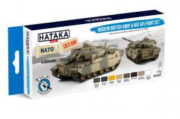 HATAKA Blue BS77 Modern British Army & RAF AFV paint s.