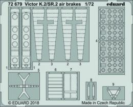 EDUARD Lepty 1/72 SET Victor K.2/SR.2 Airbrakes for AIR