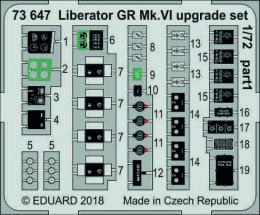 EDUARD Lepty 1/72 Liberator GR.Mk.VI Upgrade Set for EDU