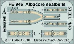 EDUARD ZOOM 1/48 Albacore Seatbelts STEEL for TRU