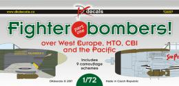 DK Decals 1/72 Fighter-bombers over W.Europe, MTO and CBI