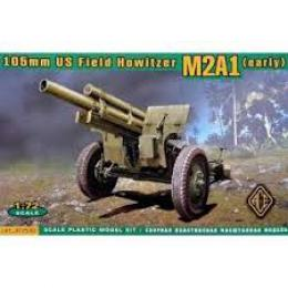 ACE 1/72 M2A1 105mm US Field Howitzer (early)