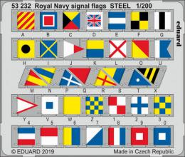 EDUARD SET 1/200 Royal Navy signal flags STEEL