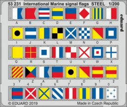 EDUARD SET 1/200 International Marine signal flags STEEL