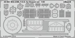 EDUARD Lepty 1/48 SET  MiG-23ML Flogger F.O.D. for Brassin EDUARD Lepty 1/48 SET  for EDU