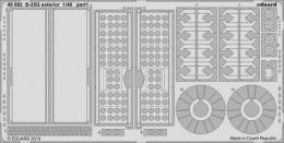 EDUARD Lepty 1/48 SET  B-25G Mitchell exterior for ITA